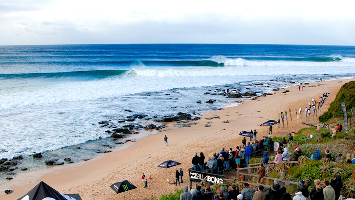 Jeffreys Bay: six-second barrels at Supertubes
