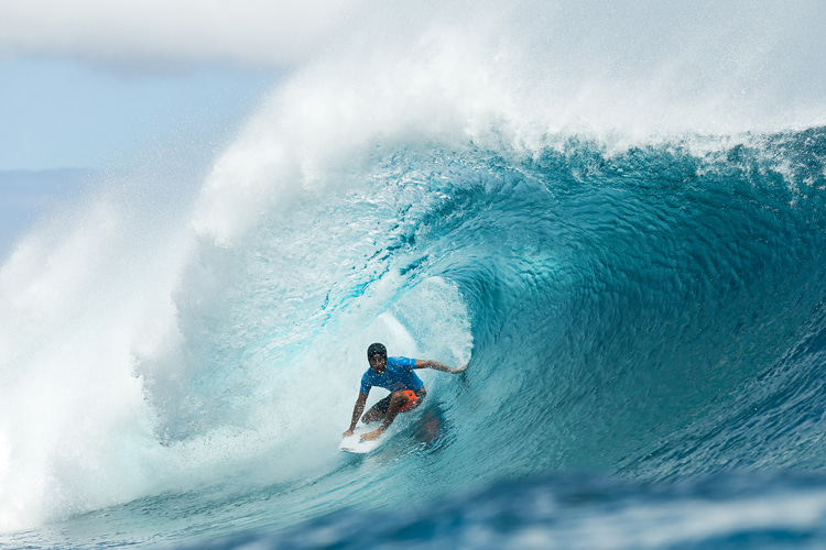 Tehaupoo, Tahiti: the home of the Paris 2024 surfing event | Photo: WSL