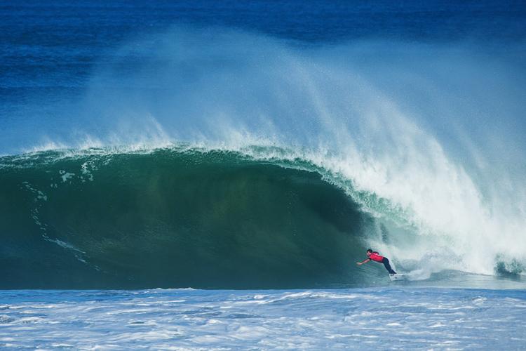 Jeremy Flores: perfect surf   Photo: Poullenot/WSL