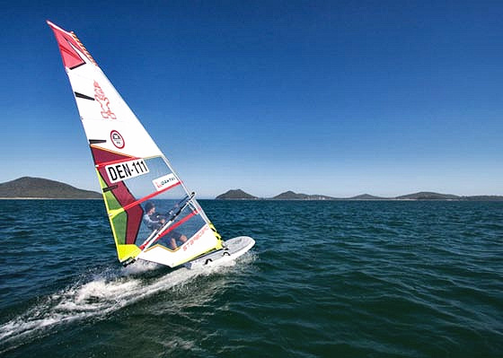 Jesper Vesterstrøm: where are the other windsurfers?