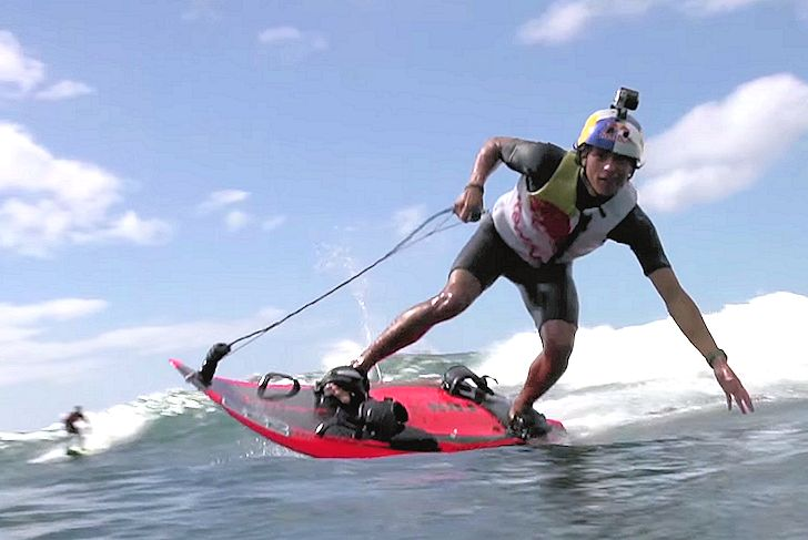 Jet Surf: Kai Lenny at full throttle