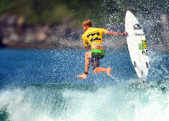 John John Florence: kicking out of Rio