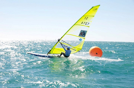 Joachim Larsson: he loves the Kona windsurf class