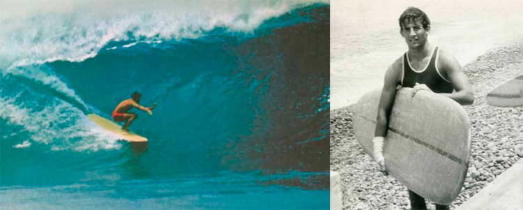Joaquín Miró Quesada: he died in 1967 surfing Pipeline