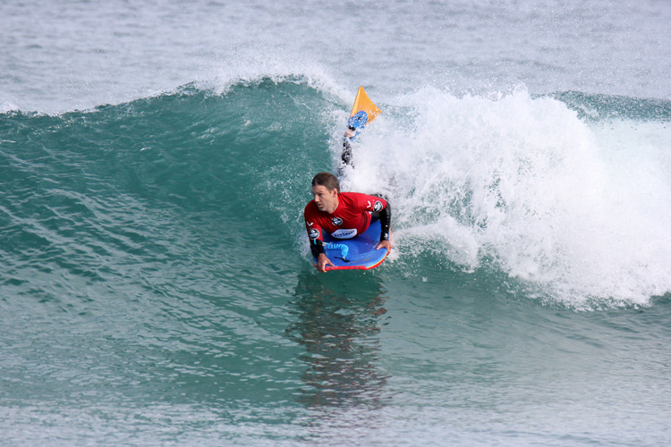 Joe Jordanoff: the stormed the show at the 2020 SunSmart WA Bodyboard Titles | Photo: Majeks/Surfing Australia