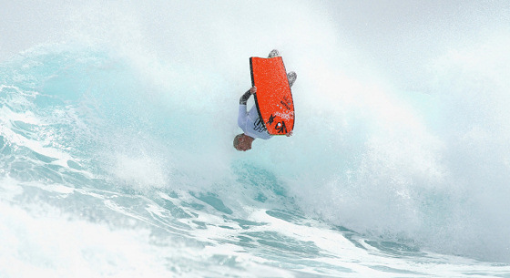 Joe Clarke: bodyboarding in