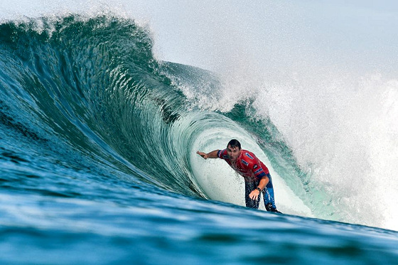 Joel Parkinson: heading towards his maiden ASP World Tour title