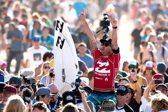 Joel Parkinson: maiden world surfing title