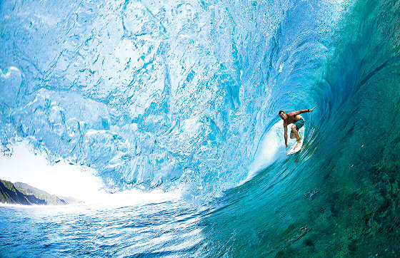 Joel Parkinson: deep in the Billabong tube