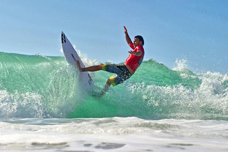 Joel Parkinson: surfing for the Snapper Rocks Boardriders
