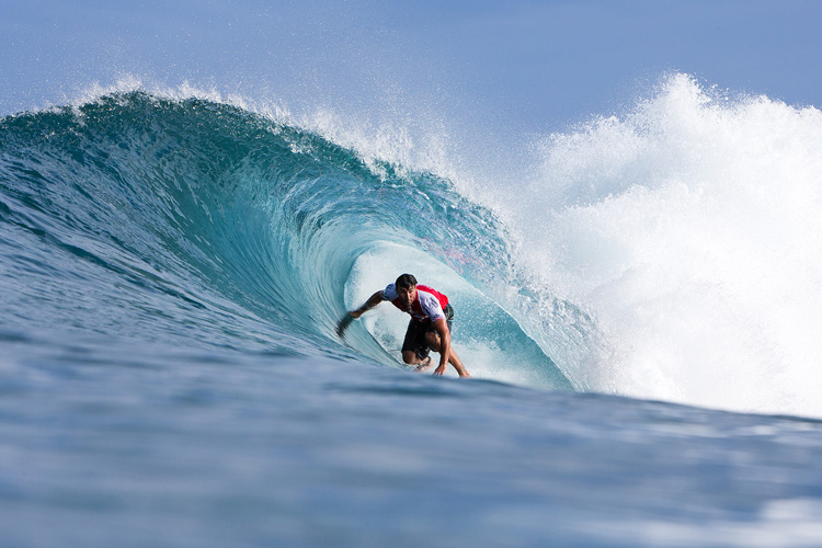 Joel Parkinson: enjoying the Backdoor pit | Photo: Heff/WSL