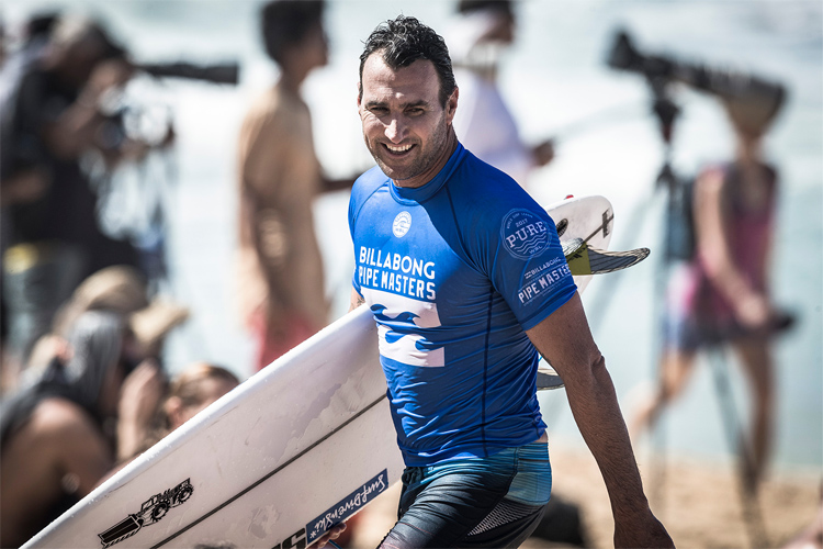 Joel Parkinson: he competed for 11 years on the Championship Tour | Photo: Poullenot/WSL