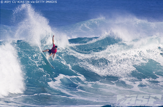 Joel Parkinson took the 2009 O'Neill World Cup of Surfing