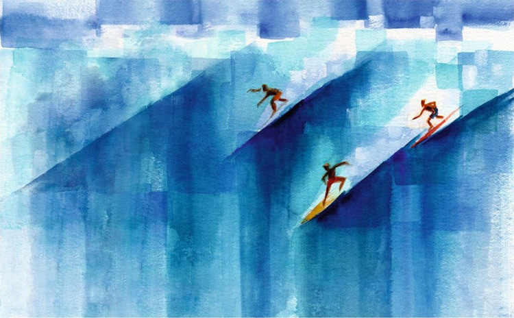 John Severson: the legendary Surfer Magazine publisher was also a prolific painter
