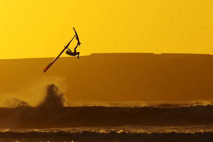 Boujmaa Guilloul: shooting windsurfers is an art | Photo: John Carter