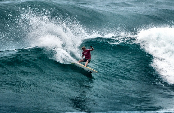 John John Florence: back foot power