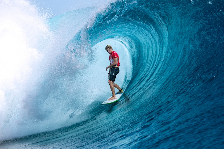 John John Florence: not impressed with Chopes | Photo: ASP/Will Hayden-Smith