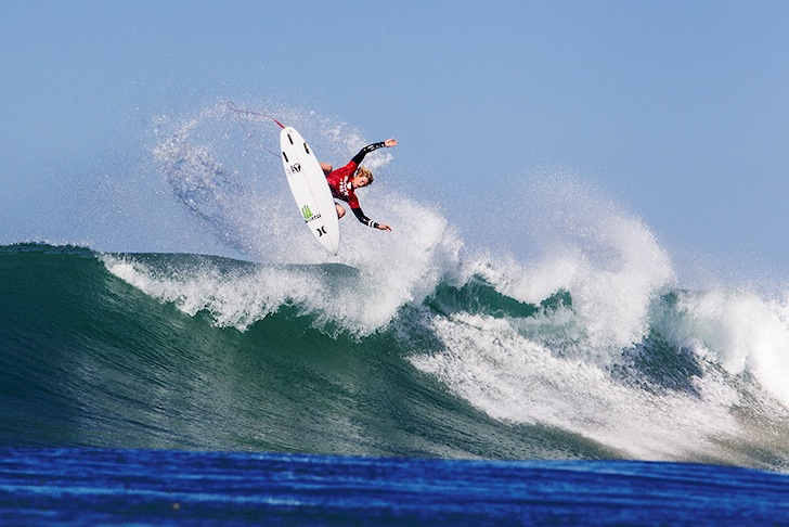 John John Florence: fired up at Lowers | Photo: ASP/Rowland