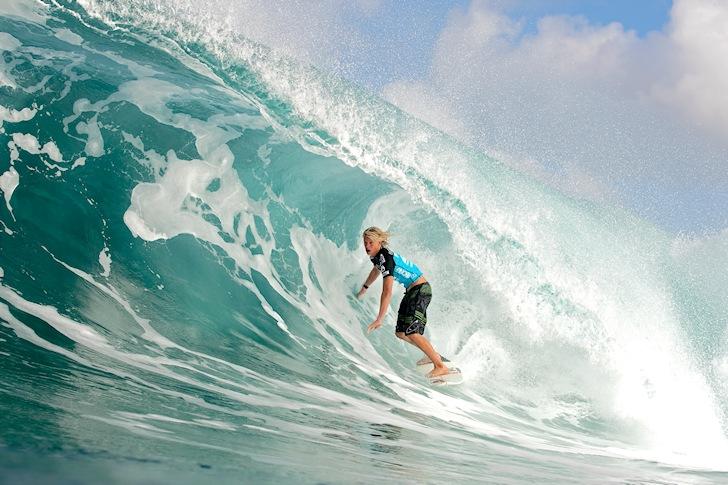 John John Florence: two Triple Crown of Surfing titles in the bag | Photo: ASP/Cestari