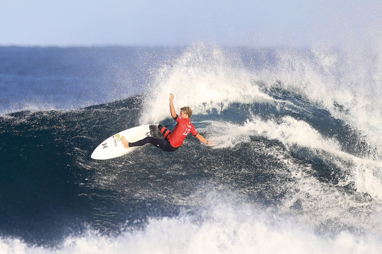 John John Florence: layback power | Photo: Dunbar/WSL