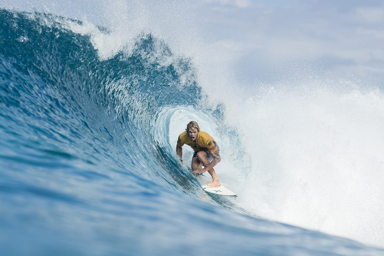 John John Florence: riding Backdoor with his eyes on the world title | Photo: Cestari/WSL