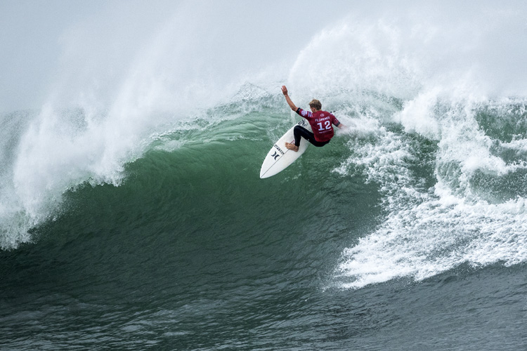 John John Florence: he won the Rip Curl Pro Bells Beach for the first time in his career | Photo: Cestari/WSL