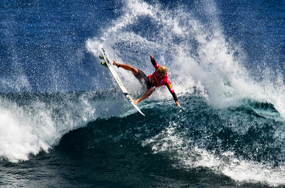 John John Florence: no drugs, only titles