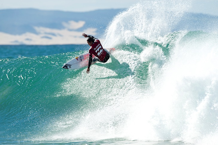 Jordy Smith: playing in home waters