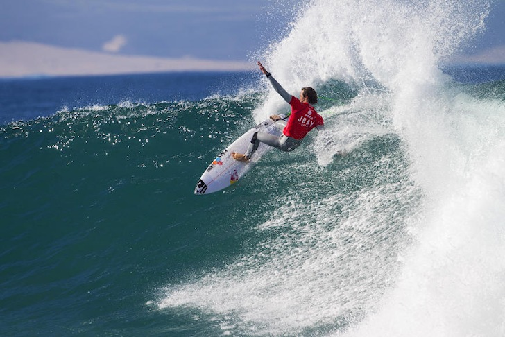 Jordy Smith: Perfect 10 in home waters
