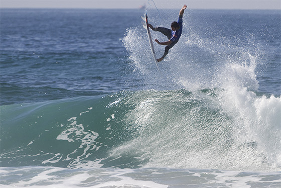 Jordy Smith: aerial specialist