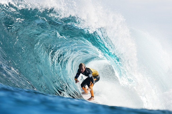 Josh Kerr: hiding in The Box | Photo: ASP/Kelly Cestari