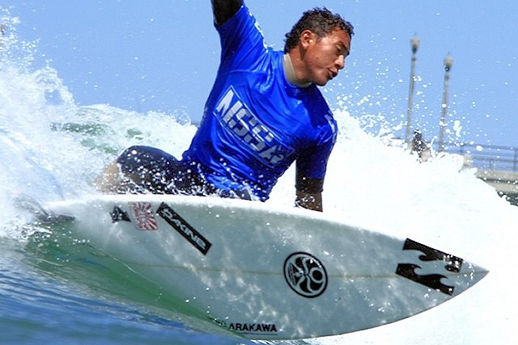 Josh Moniz: ready to become a world surfing champion