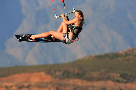 Jo Wilson: fit and ready for kitesurfing adventures