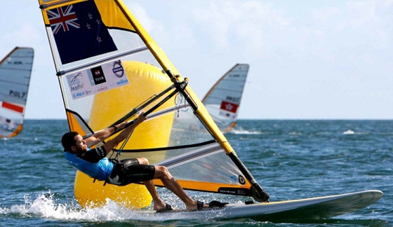 JP Tobin: the best Kiwi RS:X windsurfer