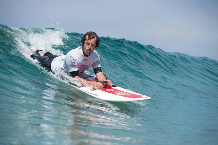 Adaptive surfing: the ISA wants the sport in the Paralympic Games | Photo: Bastidas/ISA