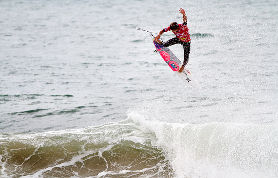 Julian Wilson: Alley Oop in the land of barrels