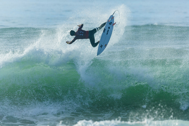 Julian Wilson: the Australian won his second event this season | Photo: Poullenot/WSL
