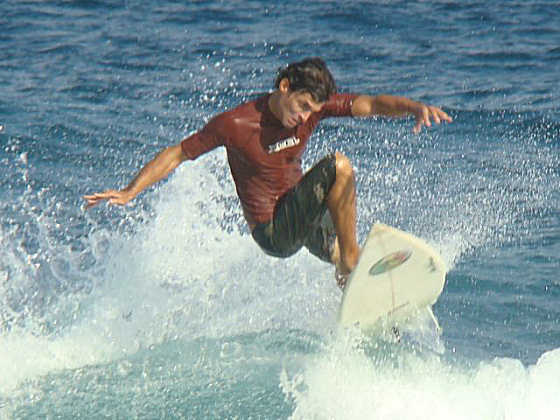 Junior Gómez: leading the Dominican surfing arsenal