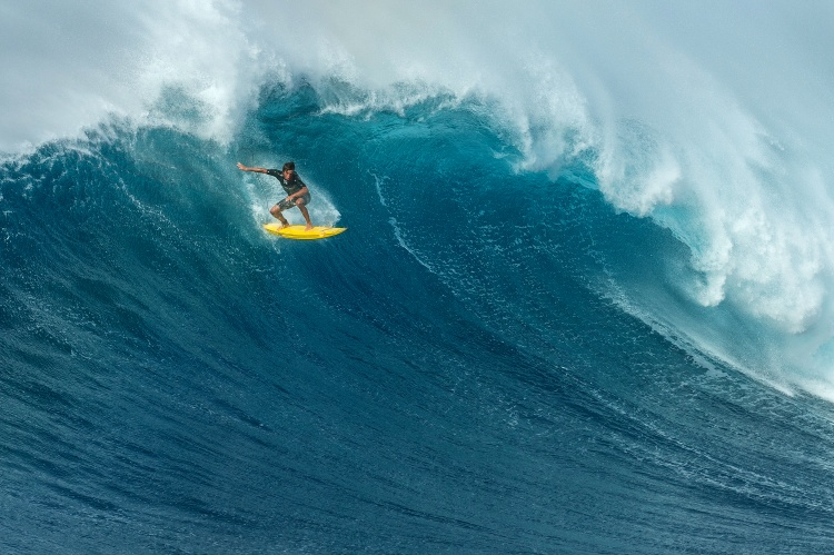 Jaws is ready for the Peahi Challenge 2015