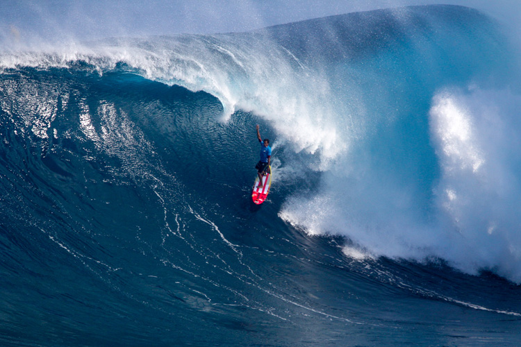 Kai Lenny: he rode the biggest wave his life at Jaws | Photo: WSL