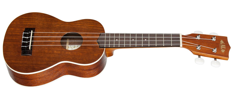 Ukulele: a four-string instrument that resembles a small classical guitar | Photo: Kala