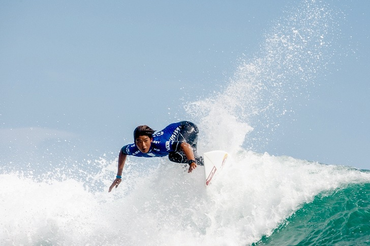 Kanoa Igarashi: pumped | Photo: US Open of Surfing/Michael Lallande