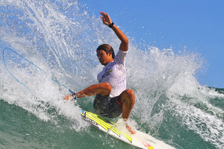 Kanoa Igarashi: he will be on the Dream Tour | Photo: Smorigo/WSL