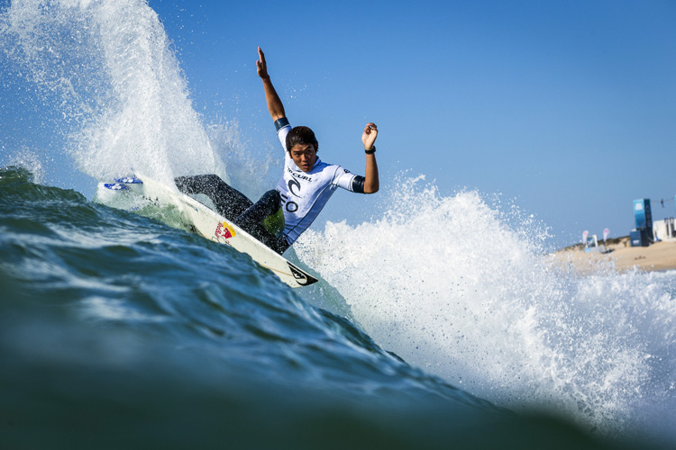 Kanoa Igarashi: ready to represent Japan in the Championship Tour and Olympic Games | Photo: Poullenot/WSL