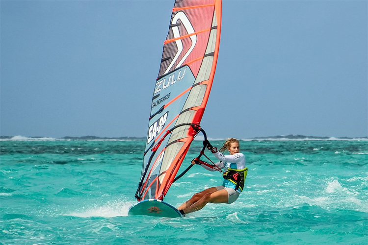 Karo van Tonder: a fast and mighty windsurfer from South Africa