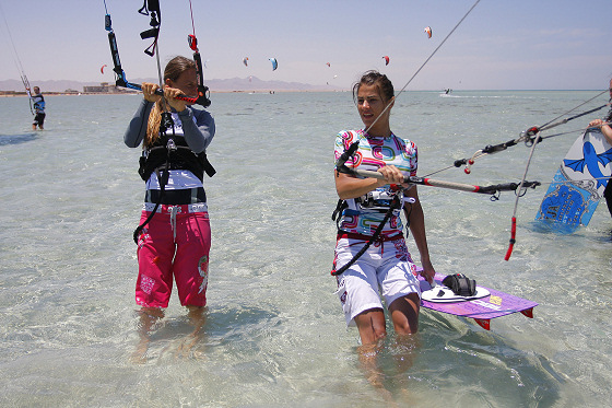 KB4Girls: one day, kiteboarding will have more fans than football