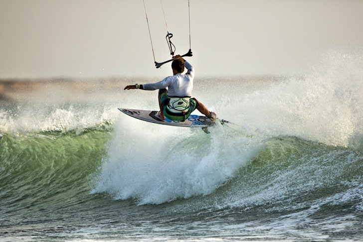 Keahi de Aboitiz rides to victory at the PKRA Dakhla 2014