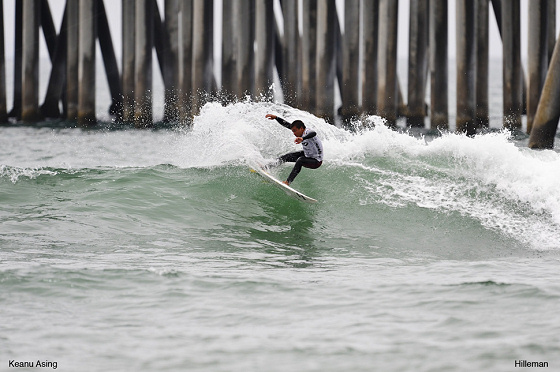 Keanu Asing conquers the Nike 6.0 Pier Pressure at Huntington Beach