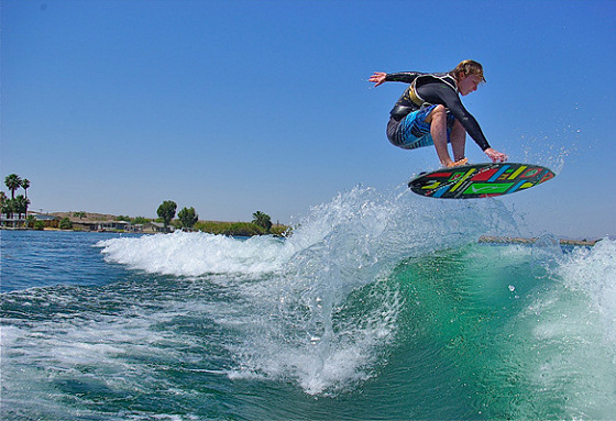 Keenan Flegel: surfing the wake