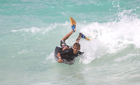Keiki Ocean Fest: serious bodyboarding competition